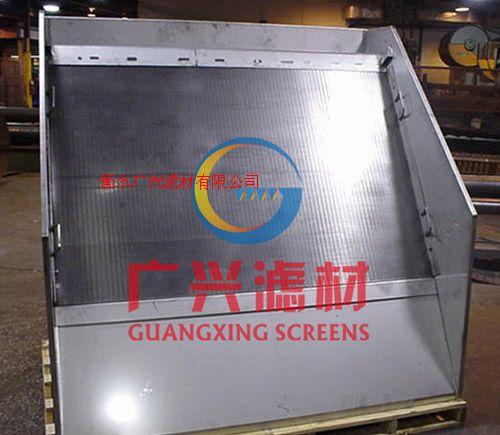 滤板,不锈钢V形丝焊接筛板