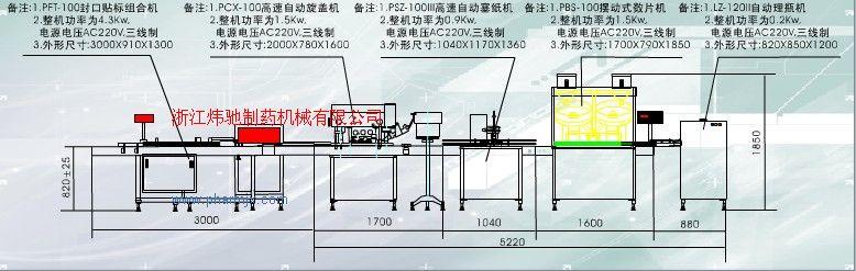 膠囊瓶裝生產線