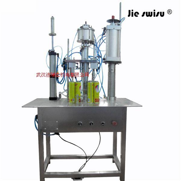 自动灌漆封口充气一体机 手喷漆生产设备