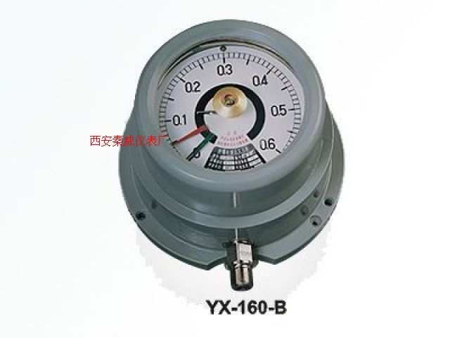 防爆電接點壓力表,YX-160-B