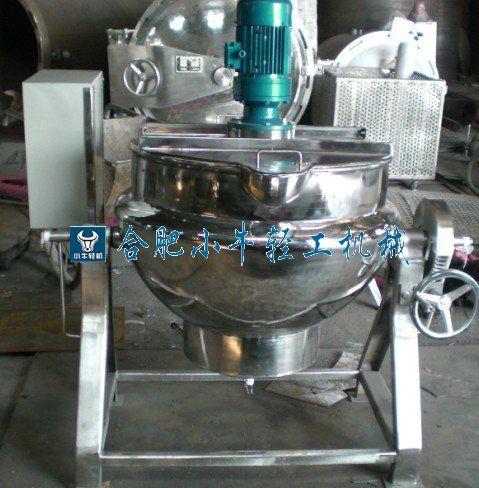 電加熱式帶攪拌夾層鍋