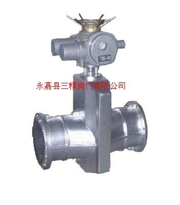 GJ941X-10鋁合金電動管夾閥