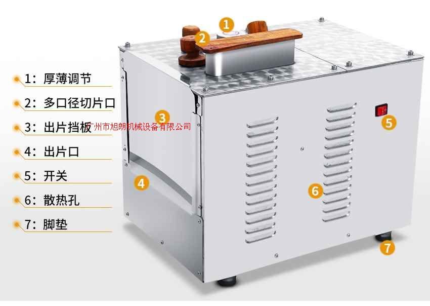 中型不銹鋼藥材切片機