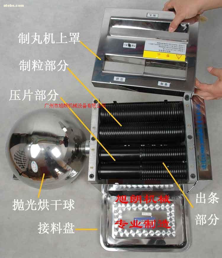 小型半自動中藥制丸機