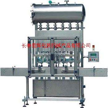 化妝品灌裝機生產線-日化灌裝機-醫藥皮炎寧灌裝機