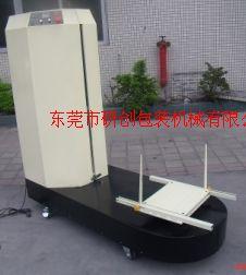 行李薄膜裹包机 东莞经济型缠绕机电线包装缠绕机