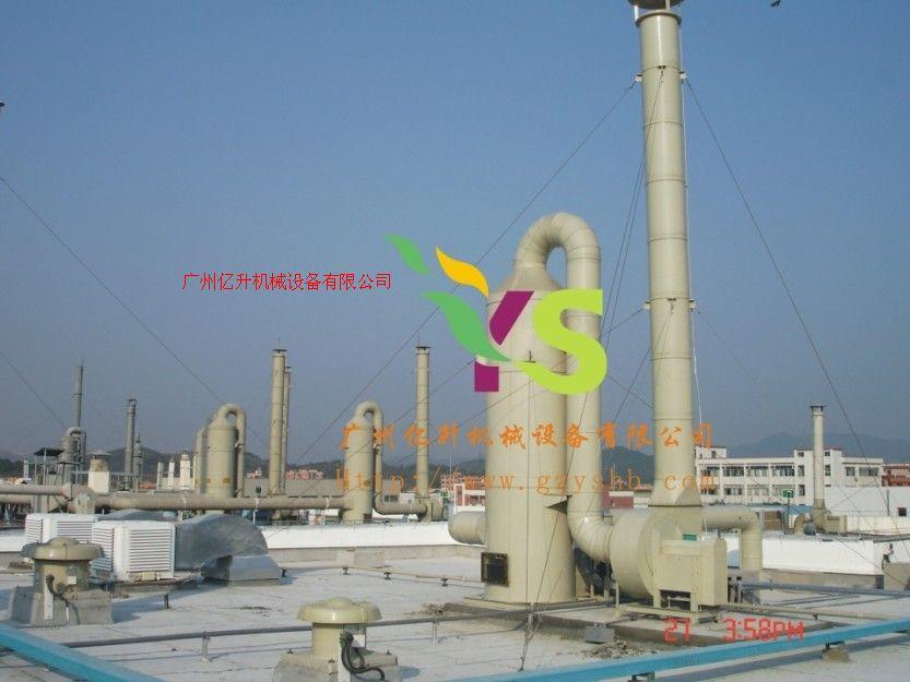 PVC活性碳吸附塔、硝酸雾回收处理塔、铬酸雾回收处理塔