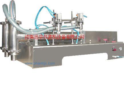 山西液體灌裝機C鄭州消毒液灌裝機