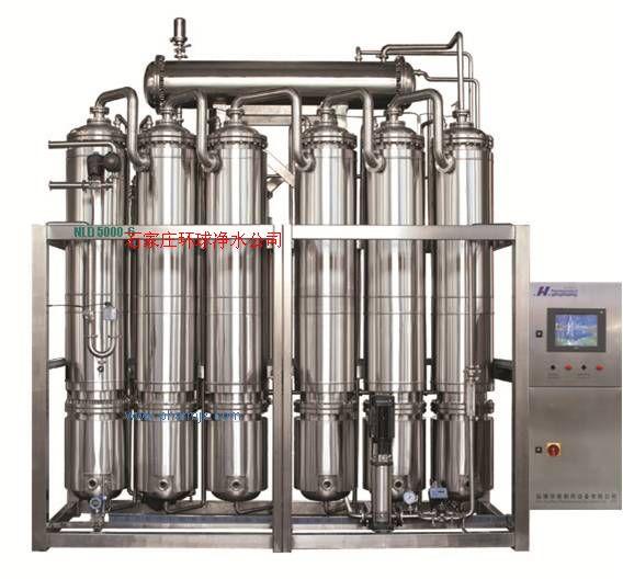 500-5000L/H蒸馏水机