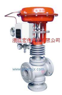 供应气动薄膜三通调节阀
