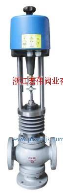 供應電動三通合流、分流調節閥