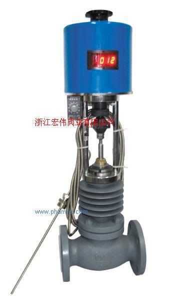 供應自力式電動溫度調節閥