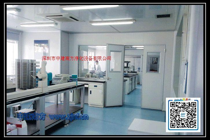 中建南方GMP药厂净化车间