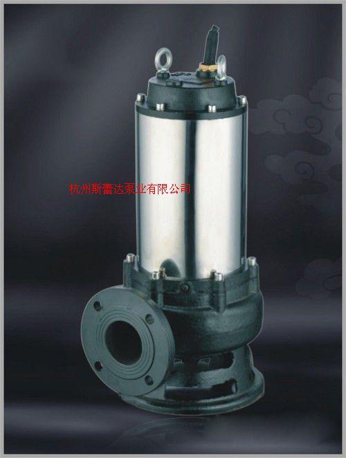 WQP污水污物潜水泵