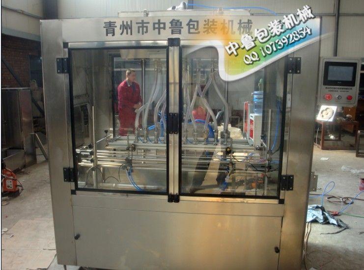 實力廠家 上門安裝 全自動直線式果酒灌裝機