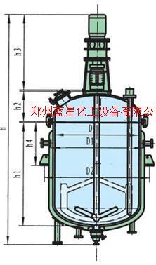 2噸搪瓷反應釜