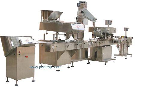 供應SL60/120全自動片劑/膠囊甁裝生產線