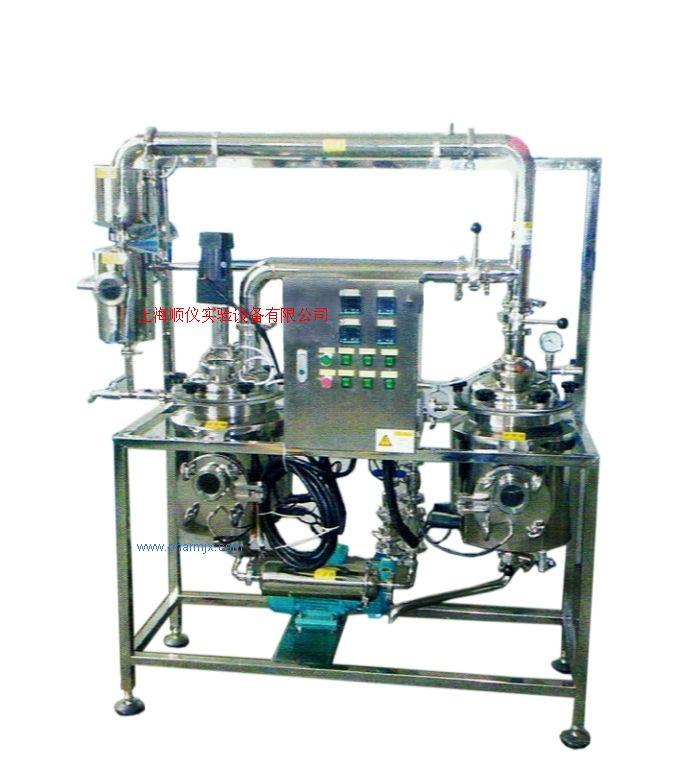 多功能超声波提取浓缩机组